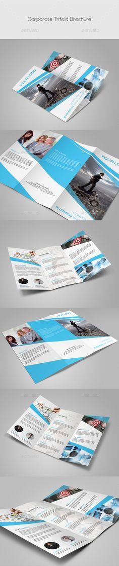 Corporate Trifold Brochure Template #design Download: http://graphicriver.net/item/corporate-trifold-brochure/10032456?ref=ksioks