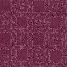 "Carpeting in style ""Stylish Grid"" - color Fuschia - HGTV HOME Flooring by Shaw"