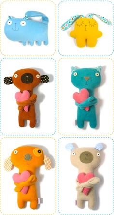 softies MUÑECOS INFANTILES