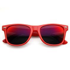 1e5d8788b4 Retro Revo Color Mirror Lens Wayfarer Sunglasses 8126 Beach Sunglasses
