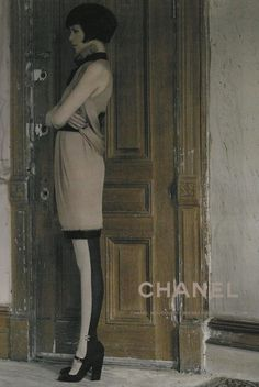 """Chanel, Fall/Winter 2008-2009 campaign entitled """"Harlem Shuffle""""   Claudia Schiffer by Karl Lagerfeld"""
