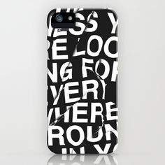iPhone case by WRDBNR on #Society6