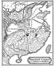 Map of Ancient China