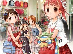 Rpg Horror Games, All Things Cute, Gyaru, Little Sisters, Wall Prints, Book Art, Art Drawings, Japan, Manga