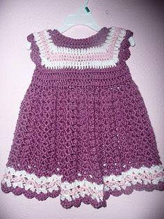 Child's Crocheted Dress | No. 602 | Free Vintage Crochet Patterns