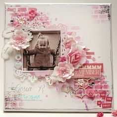 brick wall stencil on scrapbook layouts and mixed media - Google Search