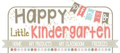 Happy Little Kindergarten: Literacy Centers