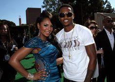 Singer Ashanti, seen below alongside R artist Trey Songz, attended the 2011 BET Awards wearing seven Vahan bracelets along with our stunning and new 'Tear Drop' earrings! The award ceremony was held at The Shrine Auditorium on June 26, 2011 in Los Angeles, California. #VahanCelebs