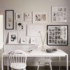 Wooden Wall Frames from The White Company - various.