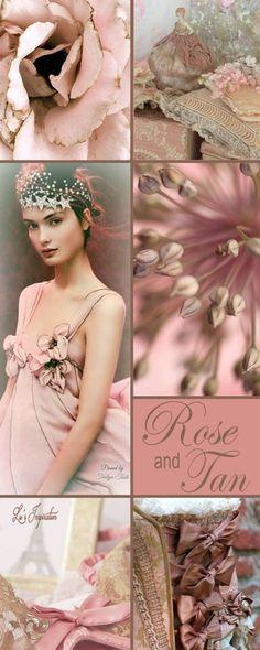 Rose and tan