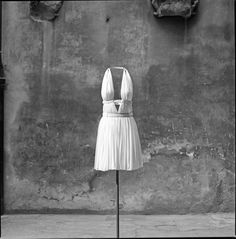 Azzedine Alaïa, Draped Dress, 1991