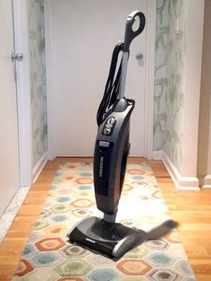 The VersaVac is very streamlined, but still has the same strong suction ability of a much larger vacuum. Plus, it's bagless which makes things even easier and is great for the environment.
