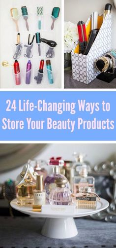 Amazing ways to store your beauty stuff: