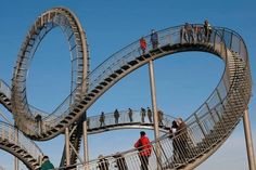 Too cool...rollercoaster stairs..........I would love to experience these!!!!!!!