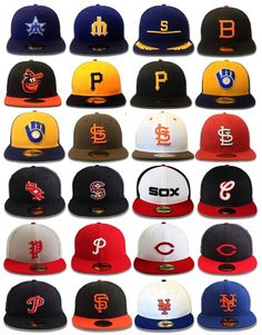 New Era 59FIFTY - MLB Cooperstown Collection - Fitted Hats and Caps  NewEra   59FIFTYFitted a6dc099e27a