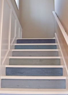 20 Nautical-Inspired Staircases For Beach Homes And Not Only | DigsDigs