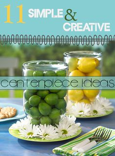 11 Simple and Creative Centerpiece Ideas