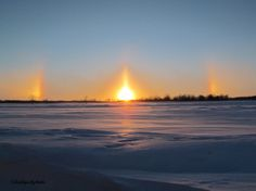 Sundogs--Portage La Prairie,Manitoba