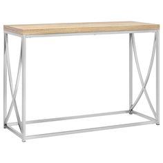 Console avec base en métal/Consoles & tables de salle à manger/Meubles|Bouclair.com