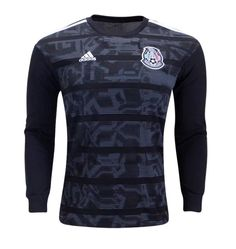 df9928e5603 Men s MEXICO Long Sleeve 2019-2020 Home SOCCER Jersey -BLACK