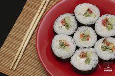 Receita de sushi.