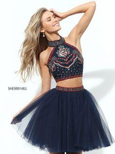 Sherri Hill 50645 Two Piece Homecoming Dress #prom #homecoming #sherrihill