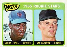 308 - Mets Rookies - Cleon Jones - Tom Parsons RC