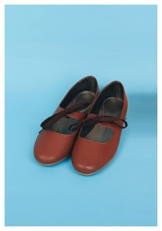 Lace-Up Mary Janes in Chocolate – Billie and Llama ($ 20.34 USD): Made of Grade A synthetic leather. || WE SHIP WORDWIDE #maryjanes #vintage #fashion #retro #shoes #cuteshoes #womensshoes #laceup #ribbonshoes #forsale #worldwideshipping