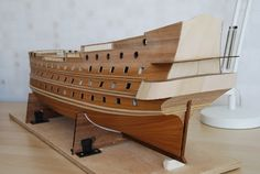 The Construction Of The San Felipe Ballustrading And Side Rails Model Ship Building, Make A Boat, Decorative Mouldings, Wooden Ship, Model Ships, Tall Ships, Cool Places To Visit, Diorama, Sailing