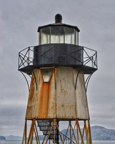 San Francisco Lighthouse Photo Print by BuffaloGoods on Etsy
