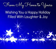 af821f8e203 A holiday message from my home to yours