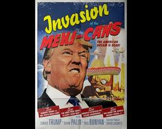 Trump vs the Mexi-cans by MovieManiacsDesign on Etsy