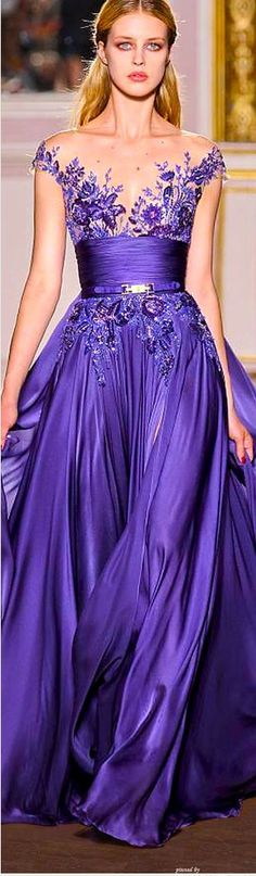6006897d823b6 Zuhair Murad Couture Gorgeous and its purple love it