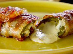 Jalapeño Popper: bacon wrapped jalapeño stuffed with cream cheese   LOW Days snack