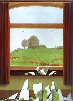 rene magritte key to the fields, 1936