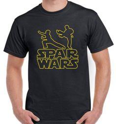 Spar Wars Karate MMA Taekwondo T-shirt