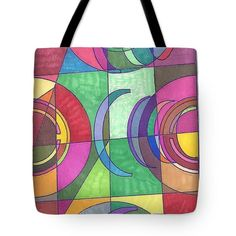 Purchase tote bags from Sara LaMothe. All Sara LaMothe tote bags are ready to ship within 3 - 4 business days and include a money-back guarantee. Abstract Art, Fashion Accessories, Container, Reusable Tote Bags, Drawings, Collection, Sketches, Drawing, Portrait