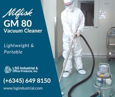 Nilfisk GM 80 is a vacuum cleaner icon in a variety of industries. It's durable, lightweight and a versatile cleaning machine trusted by most dust control professionals. You can never go wrong with this product. Order now while stocks last! Call: (+6345) 649 8150 or email us at rfq@lsgindustrial.com. IMAGE CTTO -- #VacuumCleaner #Nilfisk #VacuumMachine #CleanroomVacuum #CleanroomEquipment #LSG #Clark #Pampanga #Philippines