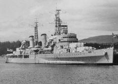 HMS Belfast (C35) Cruiser.