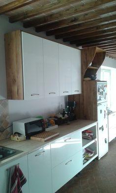 copertura in rovere per cucina