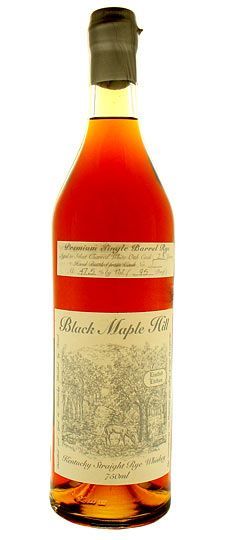 Black Maple Hill, 23 year old Rye, Single Barrel 750ml
