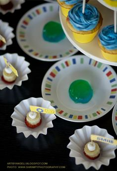 Imagination movers free printables. cupcake toppers. Party free printables by artbyangeli