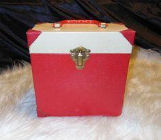 Image result for Platter Pak 45's records storage boxes vintage