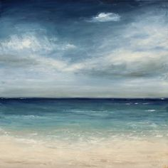 Cool waters, 2011.  Original oil on canvas paining by Tricia Strickfaden