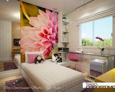 Modernos e funcionais!     Os quartos devem ser os ambientes mais aconchegantes e tranquilos da nossa casa, pois são neles que repousamos...