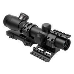 Shooter I Series 1.1-4X25 Black Scope - Mil-Dot, SPR Mount