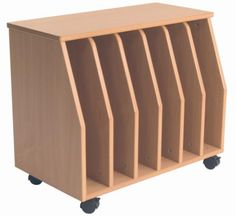 Exceptionnel Big Book Storage   6 Bay With Display Surface Top