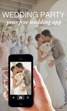 Share your #wedding journey with your guests in a custom app FOR FREE! Wedding Party is the best way to remember every moment from the engagement to the big day in photos, notes, info, and more!