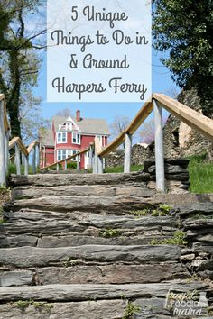 Get off the beaten path and do something a little different during your visit with these 5 Unique Things to Do In & Around Harpers Ferry. And bonus? Most of these are free to do!