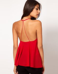 Asos Backless Cami - Lyst
